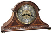 Howard Miller Webster Triple Chiming Presidential Collection Key Wound Mantel Clock - CHM1370