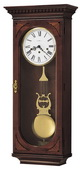 Howard Miller CHM1356 Deluxe Chiming Keywound Wall Clock (Made in USA)