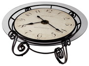 Howard Miller Revenna Furniture Trend Designs Clocktail Table Clock - CHM1712