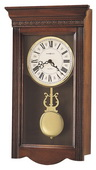 Howard Miller Deluxe Chiming Quartz Wall Clock (Made in USA)- CHM1896
