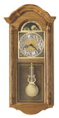 Howard Miller Deluxe CHM1804 Chiming Quartz Wall Clock (Made in USA)