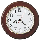 11.5in Howard Miller Wooden Quartz Wall Clock - CHM2490