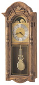 Howard Miller Deluxe CHM1758 Quartz Chiming Wall Clock (Made in USA)