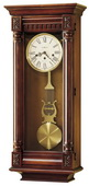 Howard Miller CHM1404 Deluxe Chiming Keywound Wall Clock (Made in USA)