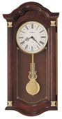 Howard Miller CHM1764 Deluxe Quartz Chiming Wall Clock (Made in USA)