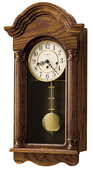 Howard Miller CHM1630 Deluxe Chiming Keywound Wall Clock