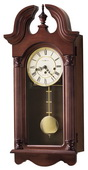 Howard Miller CHM1600 Deluxe Chiming Keywound Wall Clock