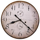 25in Howard Miller Gallery Wall Clock - CHM2152