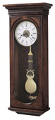 Howard Miller CHM1452 Deluxe Chiming Keywound Wall Clock (Made in USA)