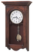 Howard Miller Jennelle Chiming Keywound Wall Clock - CHM1598
