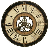 Howard Miller 32in Metal Gallery Wall Clock - CHM2098