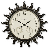 22.5in Howard Miller Deluxe Outdoor / Indoor Wall Clock - CHM2180