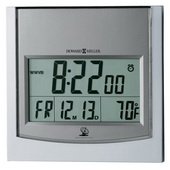 Howard Miller Atomic Digital Quartz Wall & Table Clock - CHM2582