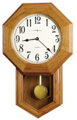 Howard Miller Quartz Chiming Schoolhouse Wall Clock - CHM2068