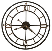 21 1/4in Howard Miller Deluxe Quartz Wall Clock - CHM2222