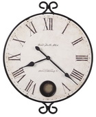 Howard Miller Deluxe 32 3/4in Gallery Wall Clock - CHM2140
