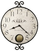 17 3/4in Howard Miller Quartz Round Wall Clock - CHM2362