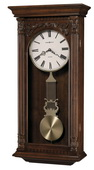 Howard Miller Deluxe Traditional Quartz Chiming Wall Clock - CHM1820