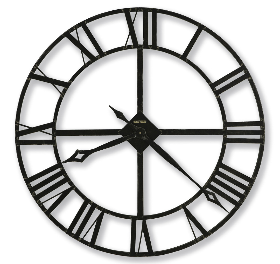 clockway 32in howard miller quartz wall clock chm2070. Black Bedroom Furniture Sets. Home Design Ideas