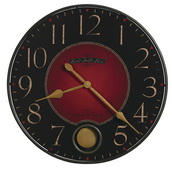 Howard Miller Deluxe 26 1/4in Quartz Wall Clock - CHM2138