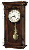 Howard Miller CHM1892 Deluxe Traditional Quartz Chiming Wall Clock