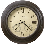 Howard Miller Deluxe 28in Indoor/Outdoor Gallery Wall Clock - CHM1914