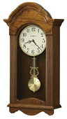 Howard Miller Jubilant Deluxe Chiming Wall Clock in Oak - CHM2142