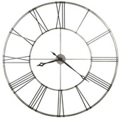 Howard Miller Deluxe 49in Metal Wall Clock - CHM2040