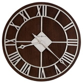 Howard Miller 15in Metal Wall Clock - CHM2368