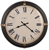 Howard Miller Deluxe 24in Metal Wall Clock - CHM2136