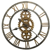 30in Howard Miller Metal Gallery Wall Clock - CHM2116