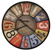 Howard Miller Deluxe 30.75in Gallery Wall Clock