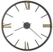 60in Howard Miller CHM4018 Deluxe Oversized Metal Wall clock