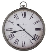 Howard Miller Deluxe 30in Classic Pocket Watch Style Wall Clock