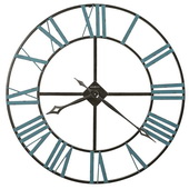 Howard Miller 36in Rustic Wrought Iron Wall Clock - CHM4024