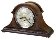 Howard Miller Barrett Deluxe Chiming Key Wound Mantel Clock (Made in USA)- CHM1510