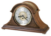 Howard Miller Barrett II Deluxe Key Wound Chiming Mantel Clock (Made in USA)- CHM1508