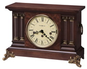 Howard Miller Deluxe Key Wound Chiming Mantel Clock (Made in USA)- CHM1504