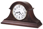 Howard Miller Carson Deluxe Chiming Key Wound Mantel Clock (Made in USA)- CHM1664