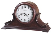 Howard Miller Palmer Deluxe Chiming Key Wound Mantel Clock (Made in USA)- CHM1654