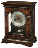 Howard Miller Emporia Key-wound Westminster Chime German Movement Mantel Clock Cherry - CHM1382