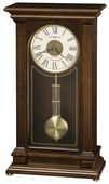 Howard Miller Triple-Chime Quartz Mantel Clock Cherry Finish - CHM2076
