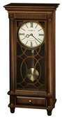 Howard Miller Deluxe Triple-Chime Quartz Mantel Clock Tuscany Cherry - CHM2072