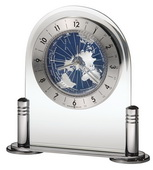 Howard Miller World Time Tabletop Clock - CHM2454