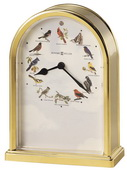 Howard Miller Songbirds of North America III Tabletop Clock - CHM2418