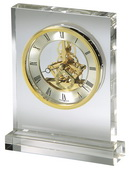 Howard Miller Deluxe Rectangular Crystal Tabletop Clock - CHM2250