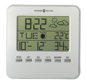 Howard Miller Weather Trend Alarm Desk & Wall Clock - CHM2802