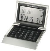 Howard Miller Multi-functional World-time Desk clock and calculator - CHM2798