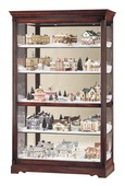 Howard Miller Windsor Cherry Curio Cabinet (Made in USA) - CHM1354