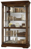 Howard Miller Tuscany Cherry Curio Cabinet (Made in USA) - CHM1350
